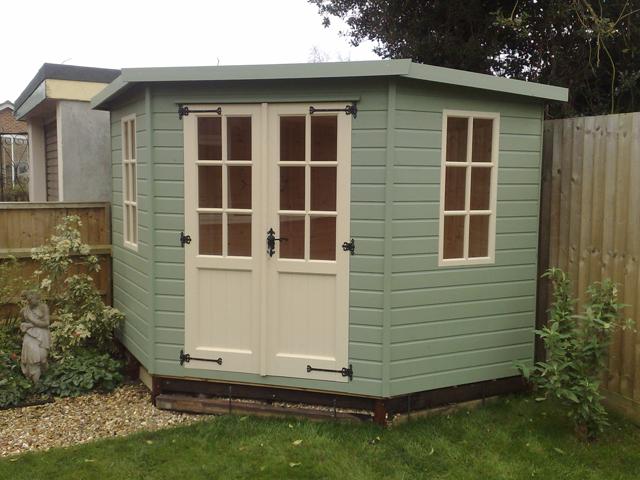 Summer houses dorset sheds for Summer house blinds