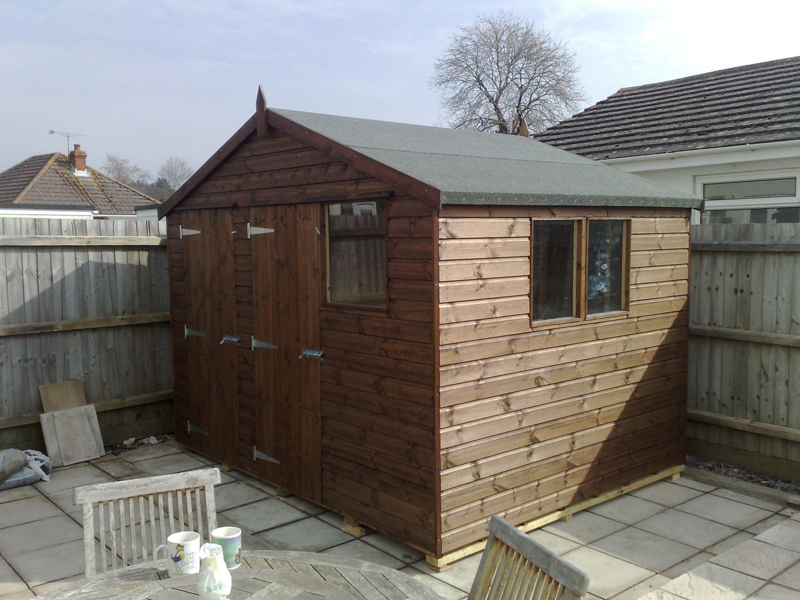 heavy duty dorset sheds. Black Bedroom Furniture Sets. Home Design Ideas