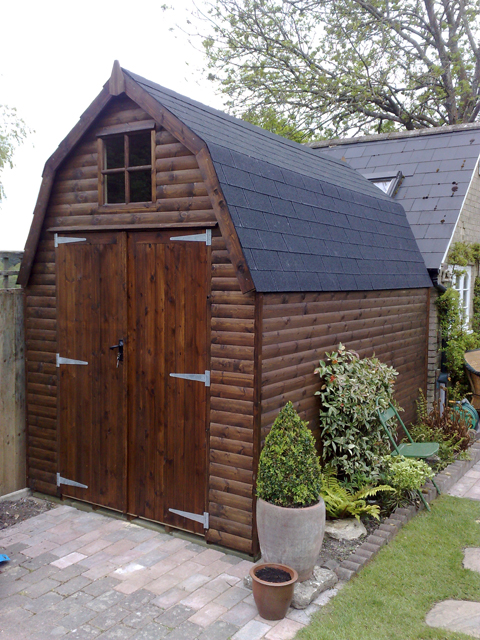 Dutch Barn Dorset Sheds